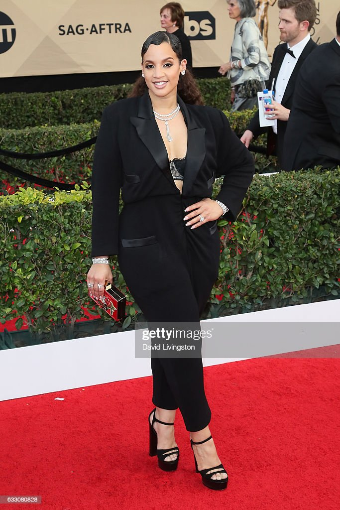 Actress Dascha Polanco attends the 23rd Annual Screen Actors Guild Awards at The Shrine Expo Hall on January 29, 2017 in Los Angeles, California.