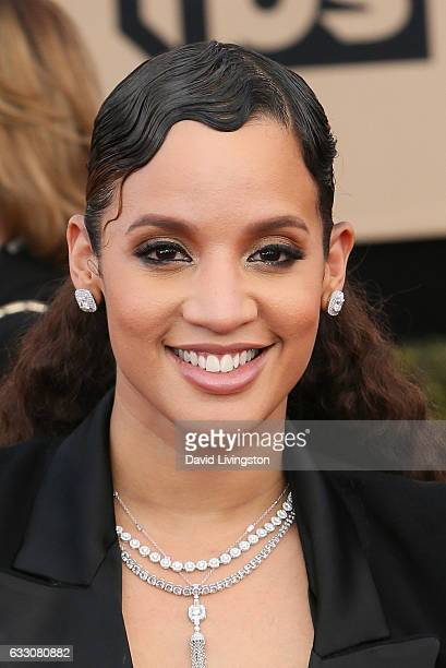Actress Dascha Polanco attends the 23rd Annual Screen Actors Guild Awards at The Shrine Expo Hall on January 29 2017 in Los Angeles California