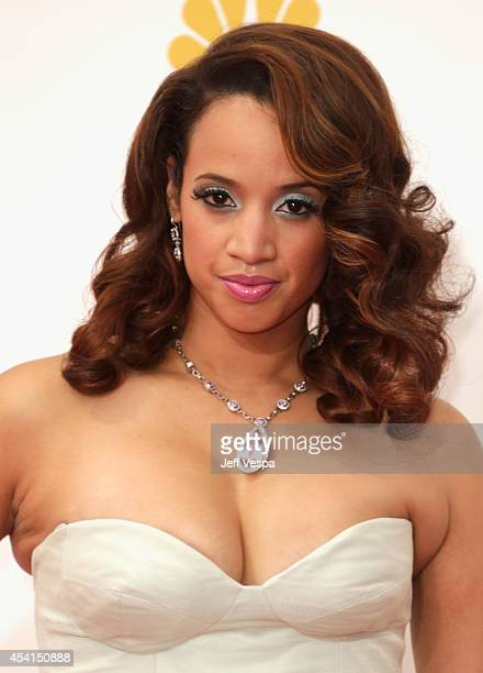 Actress Dascha Polanco attends the 66th Annual Primetime Emmy Awards held at Nokia Theatre LA Live on August 25 2014 in Los Angeles California