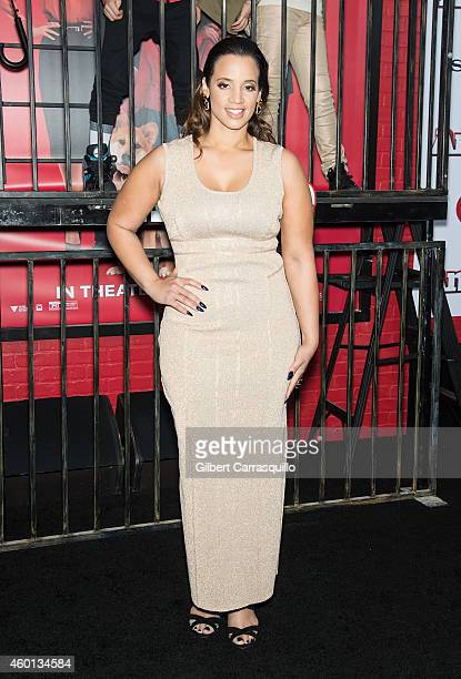 Actress Dascha Polanco attends the 'Annie' world premiere at Ziegfeld Theater on December 7 2014 in New York City