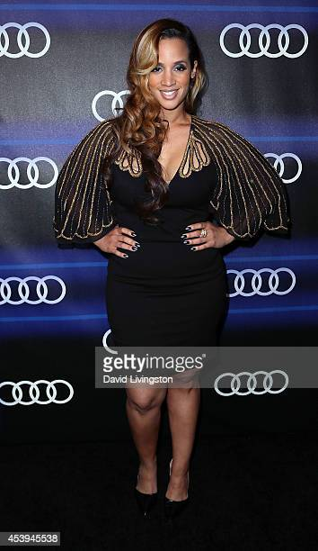 Actress Dascha Polanco attends the Audi celebration of Emmys Week 2014 at Cecconi's Restaurant on August 21 2014 in Los Angeles California