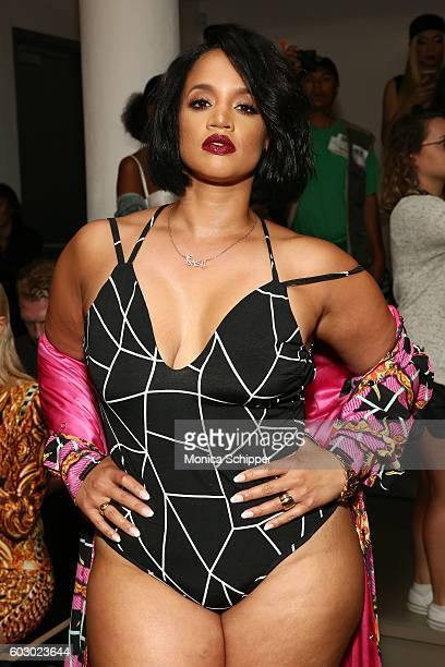 Actress Dascha Polanco attends The Blonds fashion show during MADE Fashion Week September 2016 at Milk Studios on September 11 2016 in New York City