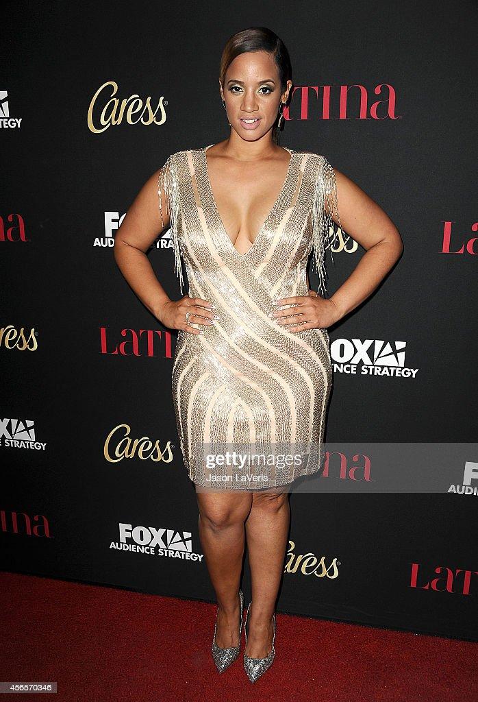 Actress Dascha Polanco attends LATINA Magazines