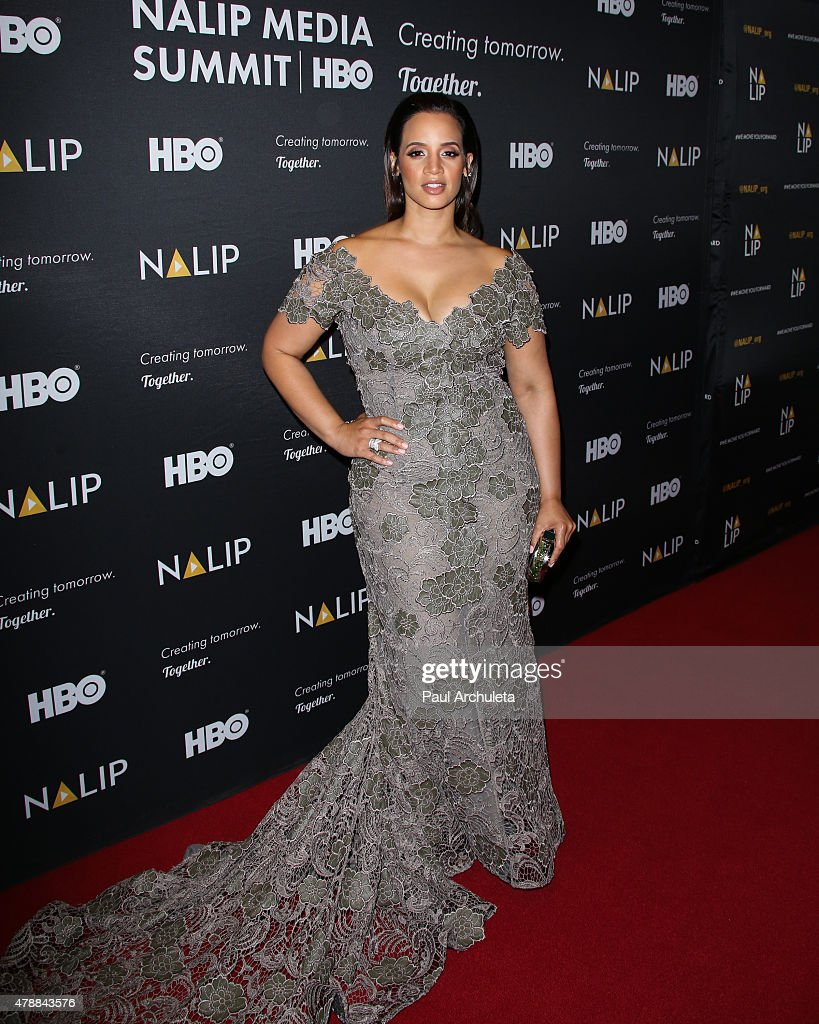 Actress Dascha Polanco attends the NALIP 16th annual Latino Media Awards at The W Hollywood on June 27, 2015 in Hollywood, California.