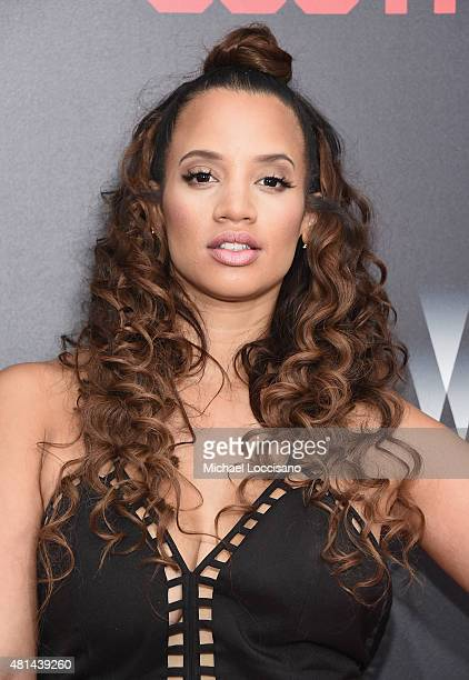 Actress Dascha Polanco attends the New York premiere of 'Southpaw' for THE WRAP at AMC Loews Lincoln Square on July 20 2015 in New York City