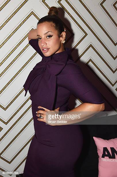 Actress Dascha Polanco attends the VH1 America's Next Top Model premiere party at Vandal on December 8, 2016 in New York City.