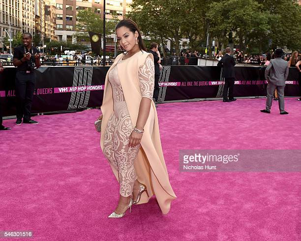 Actress Dascha Polanco attends the VH1 Hip Hop Honors All Hail The Queens at David Geffen Hall on July 11 2016 in New York City