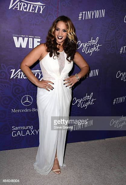 Actress Dascha Polanco attends Variety and Women in Film Annual PreEmmy Celebration at Gracias Madre on August 23 2014 in West Hollywood California