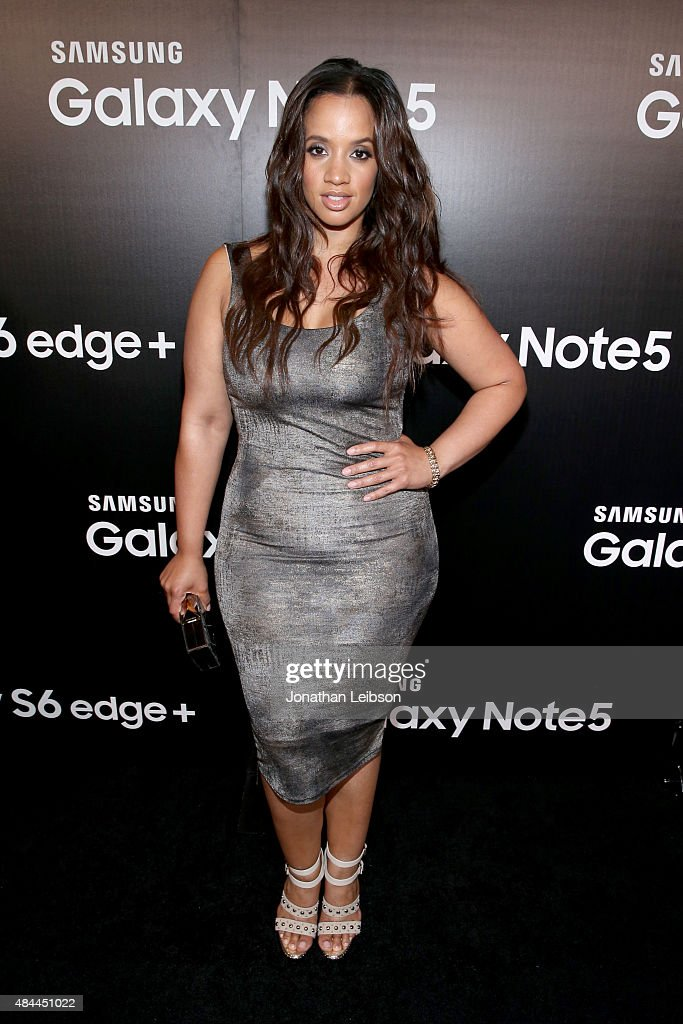 Actress Dascha Polanco celebrates the new Samsung Galaxy S6 edge+ and Galaxy Note5 at Launch Event on August 18, 2015 in Los Angeles, California.