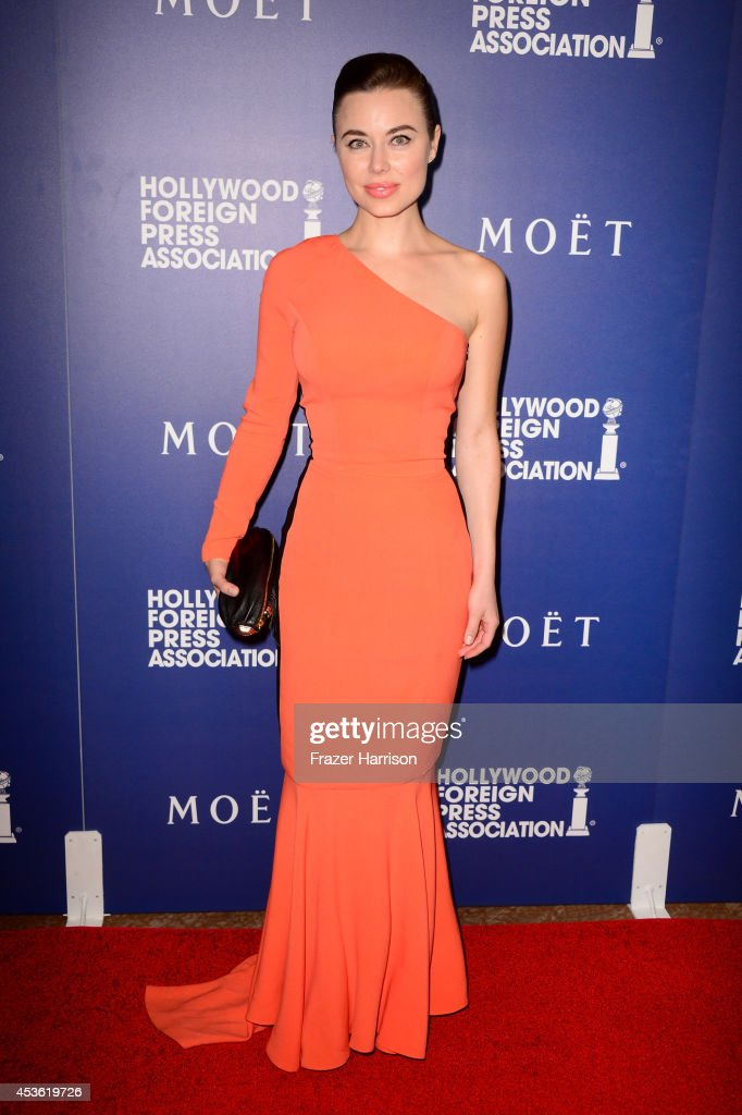 Actress Dasha German attends the Hollywood Foreign Press Association's Grants Banquet at The Beverly Hilton Hotel on August 14, 2014 in Beverly Hills, California.