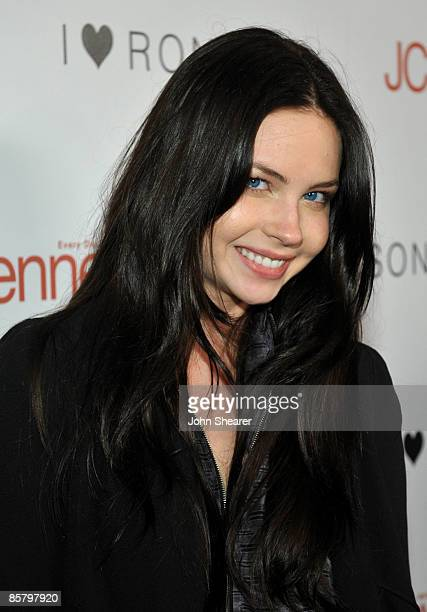 Actress Daveigh Chase arrives at the I Heart Ronson launch party presented by Charlotte Ronson and JCPenney held at Bar Marmont on April 3 2009 in...