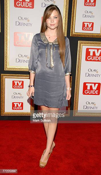 Actress Daveigh Chase arrives at the The 59th Primetime EMMY Awards TV Guide After Party at Les Deux on September 16 2007 in Hollywood California