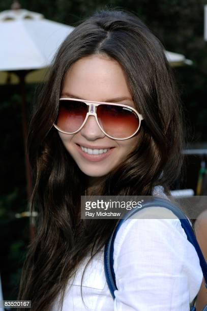 Actress Daveigh Chase wearing Carrera Champion at Solstice Sunglass Boutique and Safilo USA at the Kari Feinstein Emmy Style Lounge at a private...