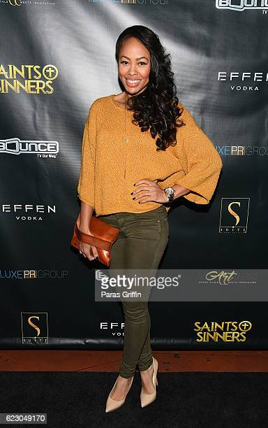 Actress Dawn Halfkenny attends Bounce TV's Saints Sinners Season 2 Celebratory Brunch at Suite Lounge on November 13 2016 in Atlanta Georgia