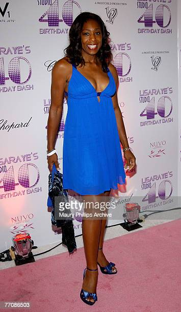 Actress Dawn Lewis arrives at LisaRaye's Studio 40 Birthday Bash on September 23, 2007 at the Beverly Hills Hotel in Berverly Hills, California.