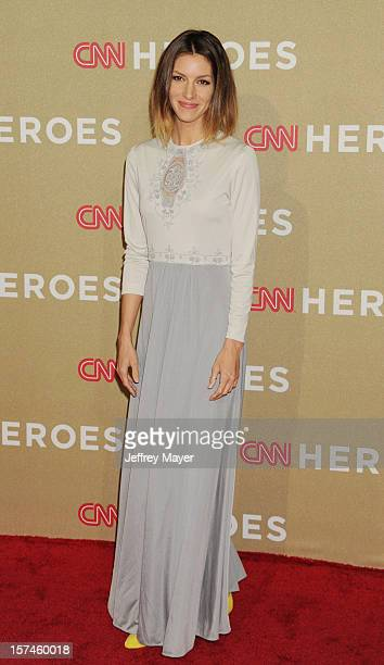 Actress Dawn Oliveri attends the CNN Heroes An All Star Tribute at The Shrine Auditorium on December 2 2012 in Los Angeles California