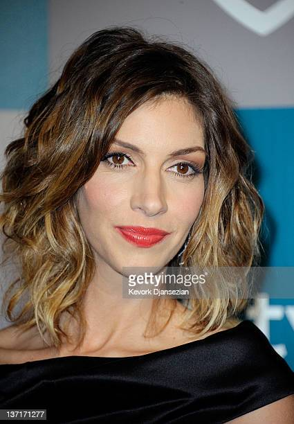 Actress Dawn Olivieri arrives at 13th Annual Warner Bros And InStyle Golden Globe Awards After Party at The Beverly Hilton hotel on January 15 2012...
