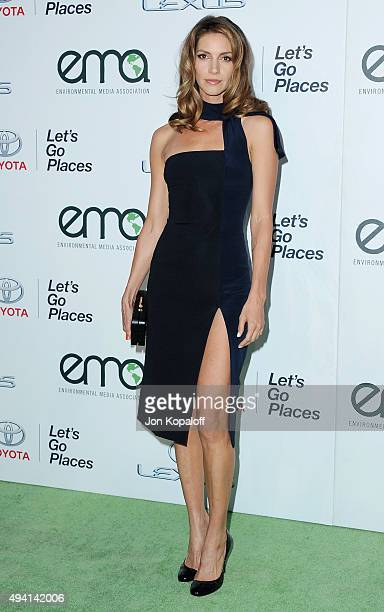 Actress Dawn Olivieri arrives at Environmental Media Association Hosts Its 25th Annual EMA Awards Presented By Toyota And Lexus at Warner Bros...