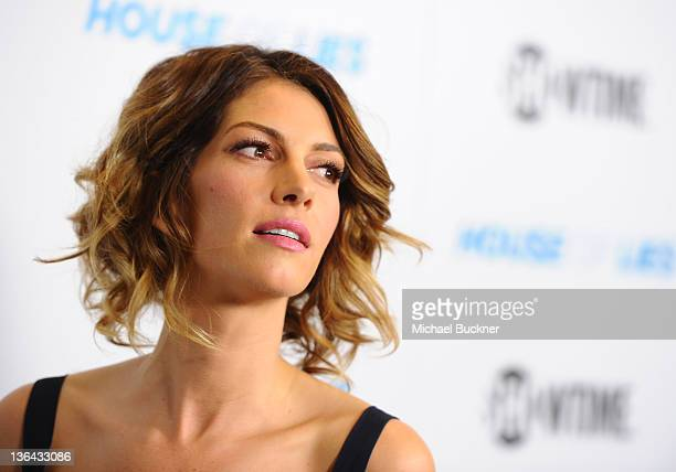 Actress Dawn Olivieri arrives at the premiere screening of Showtime's Hou$e of Lie$ at the ATT Center on January 4 2012 in Los Angeles California