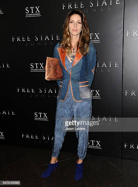 Actress Dawn Olivieri attends the premiere of Free State of Jones at DGA Theater on June 21 2016 in Los Angeles California