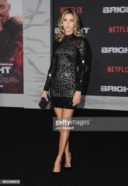 Actress Dawn Olivieri attends the premiere of Netflix's 'Bright' at Regency Village Theatre on December 13 2017 in Westwood California