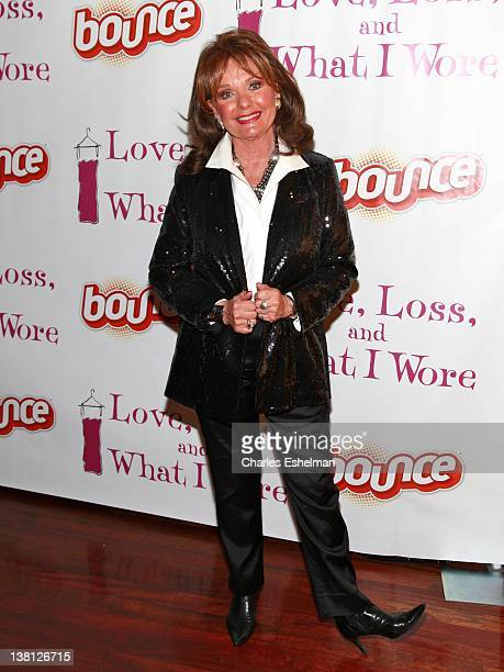 Actress Dawn Wells attends the party following the new cast performance in 'Love Loss And What I Wore' at B Smith's Restaurant on February 2 2012 in...