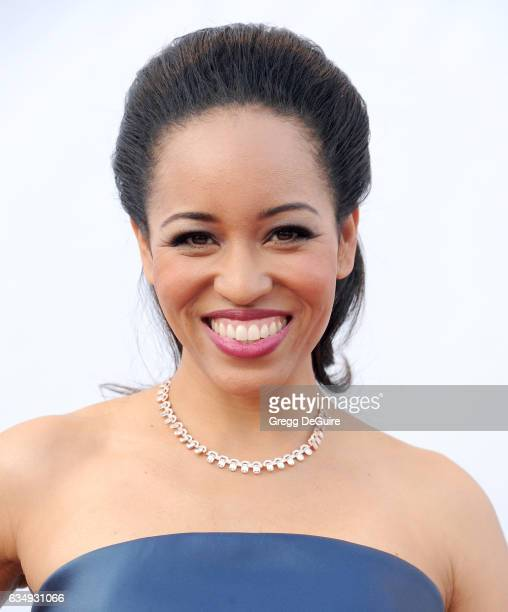 Actress DawnLyen Gardner arrives at the 48th NAACP Image Awards at Pasadena Civic Auditorium on February 11 2017 in Pasadena California
