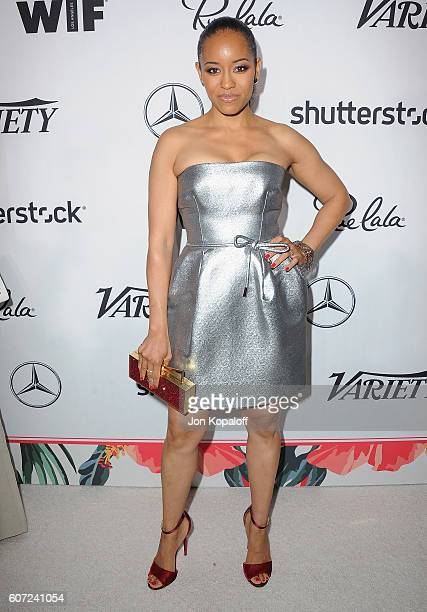 Actress DawnLyen Gardner arrives at Variety And Women In Film's PreEmmy Celebration at Gracias Madre on September 16 2016 in West Hollywood California