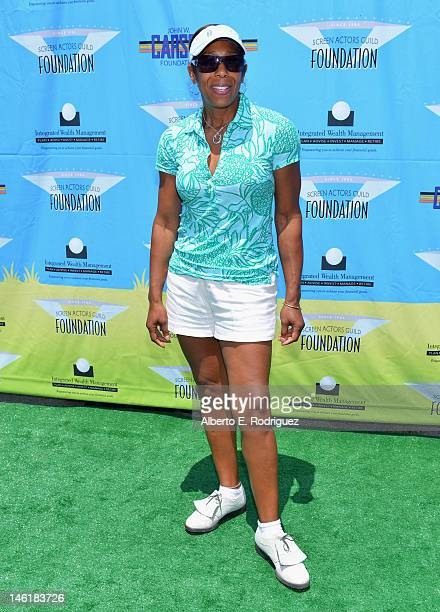 Actress Dawnn Lewis arrives to the Screen Actors Guild Foundation's 3rd Annual LA Golf Classic at Lakeside Golf Club on June 11 2012 in Burbank...