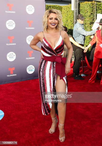 Actress Dayana Garroz attends the 2018 Latin American Music Awards at Dolby Theatre on October 25 2018 in Hollywood California