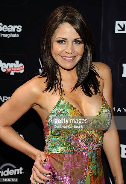 Actress Dayana Garroz attends the People en Espanol Celebrates 12th Annual 50 Most Beautiful Issue party at Mansion New York on May 14 2008 in New...