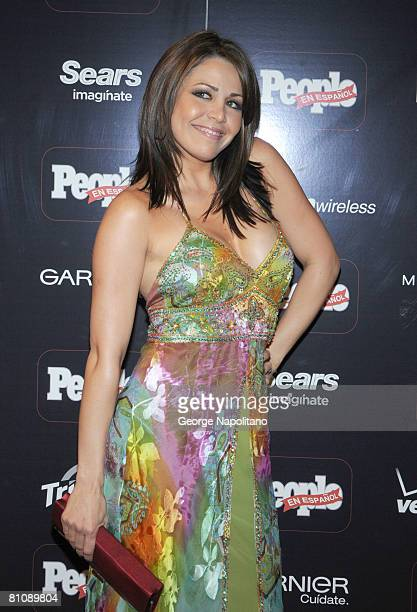 Actress Dayana Garroz attends the People en Espanol Celebrates Its 12th Annual 50 Most Beautiful Issue party at Mansion May 14 2008 in New York City