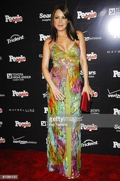 Actress Dayana Garroz attends the People En Espanol's 50 Most Beautiful Party at Mansion on May 14 2008 in New York City