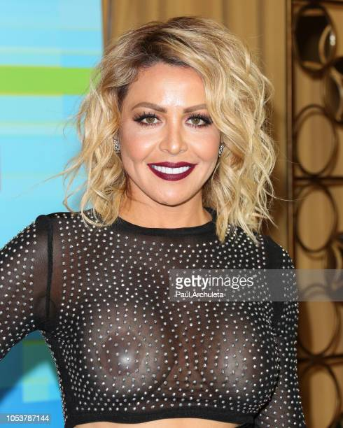 Actress Dayana Garroz poses in the press room at the 2018 Latin American Music Awards at Dolby Theatre on October 25 2018 in Hollywood California