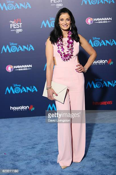 Actress Dayanara Torres arrives at the AFI FEST 2016 presented by Audi premiere of Disney's 'Moana' held at the El Capitan Theatre on November 14...