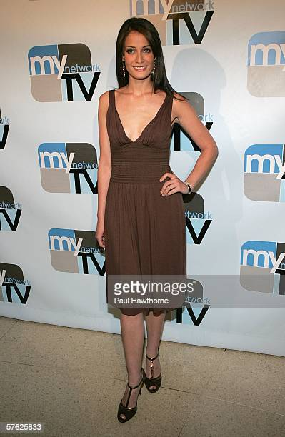 Actress Dayanara Torres attends the MyNetwork TV Upfront Presentation at the Hilton Theatre May 16 2006 in New York City