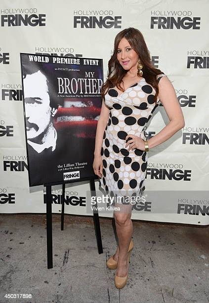 Actress Deana Molle attends My Brother play premiere at Lillian Theater on June 8 2014 in Los Angeles California