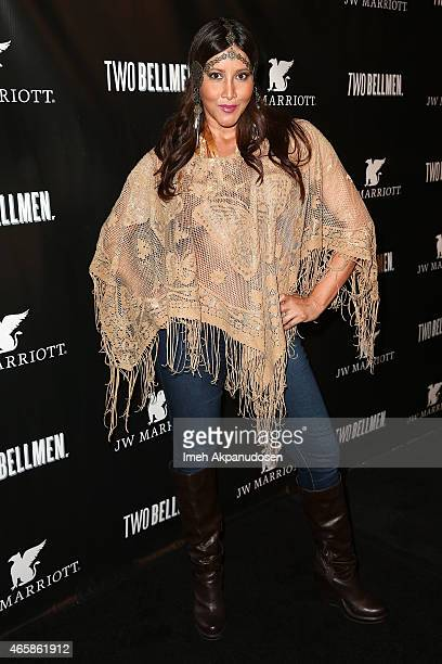 Actress Deana Molle' attends the premiere of 'Two Bellman' at JW Marriott Los Angeles at LA LIVE on March 10 2015 in Los Angeles California