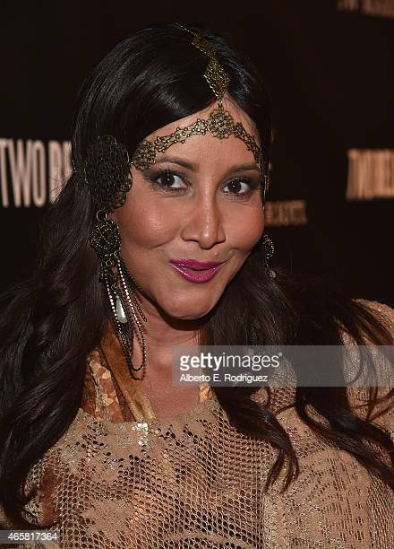 Actress Deana Molle attends the premiere of Two Bellmen at The JW Marriott Los Angeles at LA LIVE on March 10 2015 in Los Angeles California