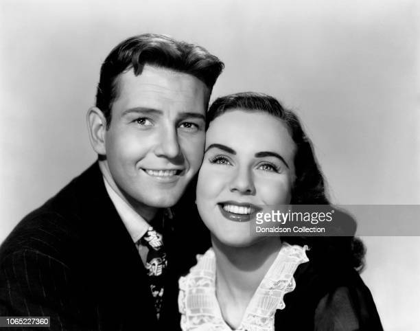 Actress Deanna Durbin and Tom Drake in a scene from the movie I'll Be Yours