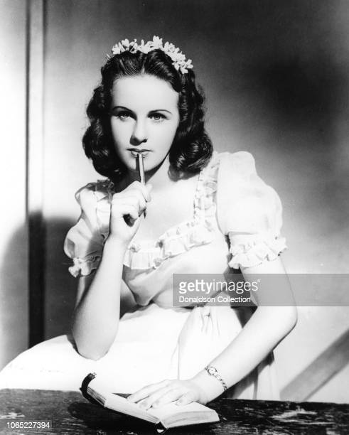 Actress Deanna Durbin in a scene from the movie That Certain Age