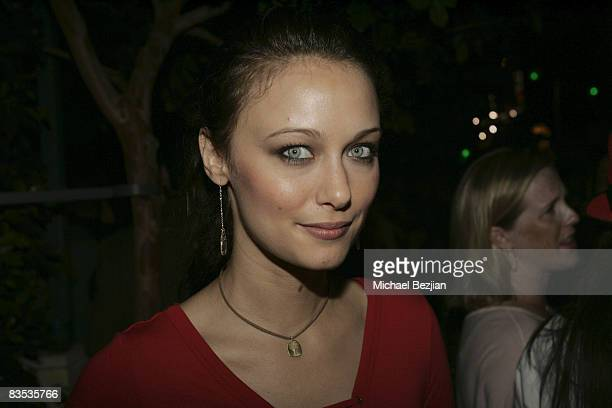 Actress Deanna Russo attends The Knight Rider Premiere Event on September 20, 2008 in Los Angeles, California.