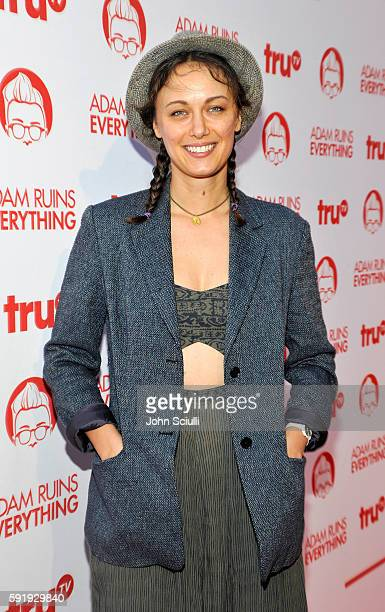 "Actress Deanna Russo attends truTV's ""Adam Ruins Everything"" Premiere Screening Event on August 18 at The Redbury Hotel on August 18 2016 in..."