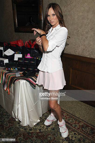 Actress Debbe Dunning attends the Backstage Creations Retreat At George Lopez's Celebrity Golf Classic held at Lakeside Golf Club on May 2 2016 in...