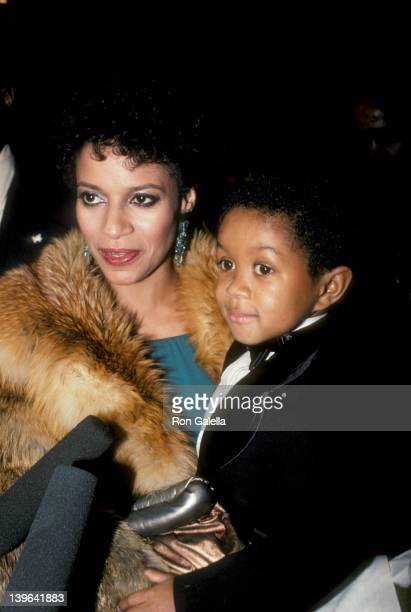 Actress Debbie Allen and actor Emmanual Lewis attending the taping of Martin Luther King JrA Celebration Of Life on The Kennedy Center in Washington...