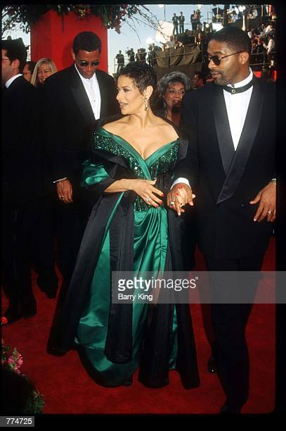 Actress Debbie Allen and her husband Norm Nixon arrive at the sixtyseventh Academy Awards March 27 1995 in Los Angeles CA After nearly threequarters...