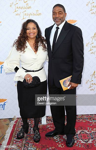 Actress Debbie Allen and husband former NBA player Norm Nixon attend the 10th Annual Alfred Mann Foundation Gala in the RobinsonsMay Lot on October...
