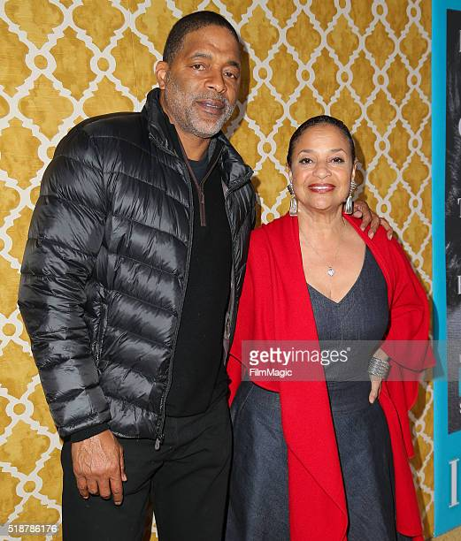 Actress Debbie Allen and husband former professional basketball player Norm Nixon attend the Los Angeles premiere of HBO Films' 'Confirmation' at...