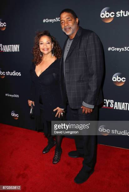 Actress Debbie Allen and husband Norm Nixon attend the 300th episode celebration for ABC's Grey's Anatomy at TAO Hollywood on November 4 2017 in Los...