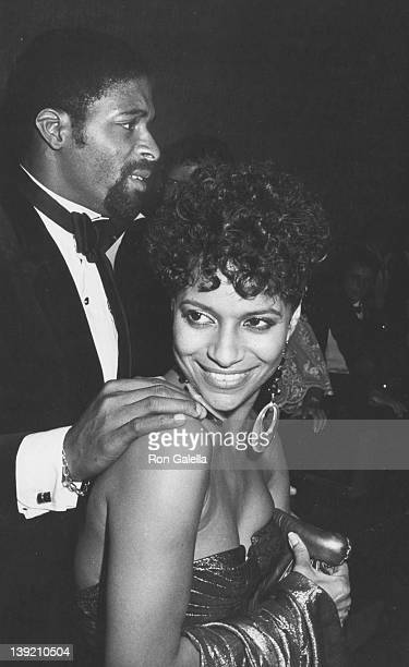 Actress Debbie Allen and husband Norman Nixon attending Party for 36th Annual Primteime Emmy Awards on September 23 1984 at the Century Plaza Hotel...